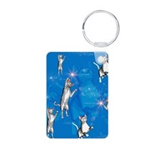 Funny playing cartoon cats Keychains