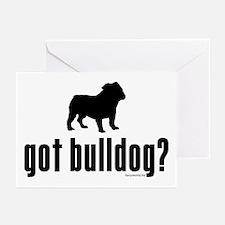 got bulldog? Greeting Cards (Pk of 20)