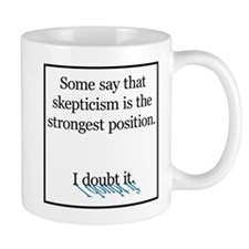 Doubts about Skepticism Coffee Mug