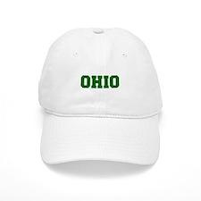 OHIO-Fre d green 600 Baseball Baseball Cap