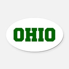 OHIO-Fre d green 600 Oval Car Magnet