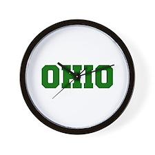 OHIO-Fre d green 600 Wall Clock
