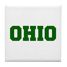 OHIO-Fre d green 600 Tile Coaster