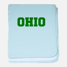 OHIO-Fre d green 600 baby blanket