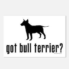 got bull terrier? Postcards (Package of 8)