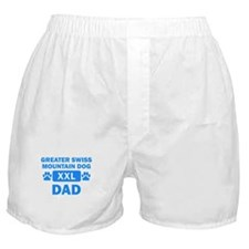 Greater Swiss Mountain Dog Dad Boxer Shorts
