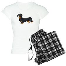Black and Tan Dachshund Pajamas