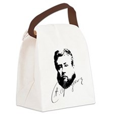 Charles Spurgeon Bust with Signature Canvas Lunch