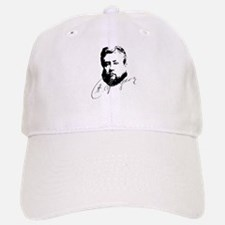 Charles Spurgeon Bust with Signature Baseball Baseball Baseball Cap
