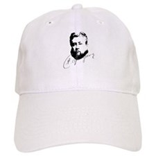 Charles Spurgeon Bust with Signature Baseball Baseball Cap