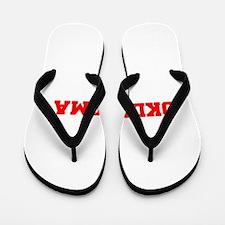 OKLAHOMA-Fre red 600 Flip Flops
