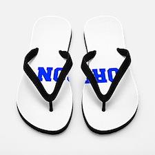 Oregon-Fre blue 600 Flip Flops