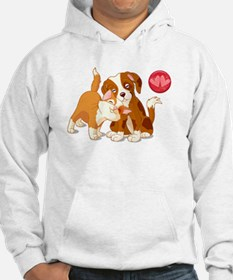 Cat and Dog Pals Hoodie