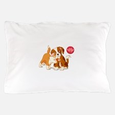 Cat and Dog Pals Pillow Case