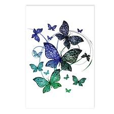 Butterflies Postcards (Package of 8)