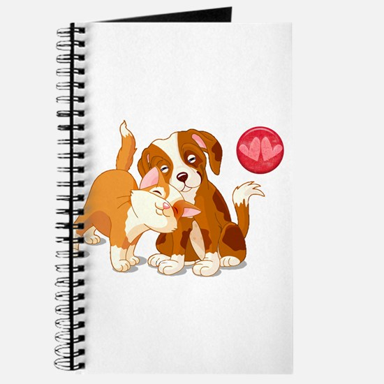Cat and Dog Pals Journal