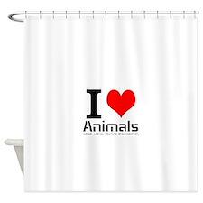 Cool Animal welfare Shower Curtain