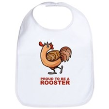 Proud To Be A Rooster Bib