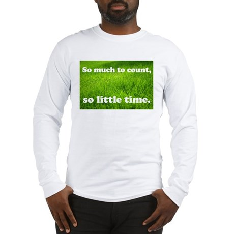 Grass-counting Long Sleeve T-Shirt