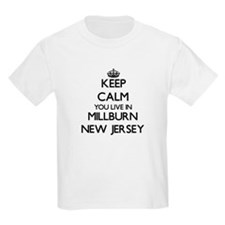 Keep calm you live in Millburn New Jersey T-Shirt