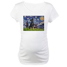 Starry Night & Miniature Pinscher Shirt