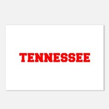 TENNESSEE-Fre red 600 Postcards (Package of 8)