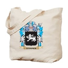 Stormer Coat of Arms - Family Crest Tote Bag