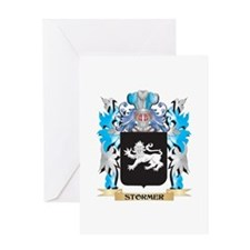 Stormer Coat of Arms - Family Crest Greeting Cards
