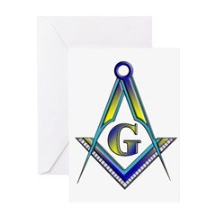 Masonic Greeting Card