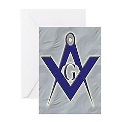 Masonic Blue Lodge Greeting Card