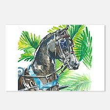 Yoohoo watercolor Postcards (Package of 8)