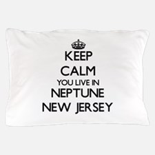 Keep calm you live in Neptune New Jers Pillow Case