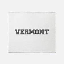 VERMONT-Fre gray 600 Throw Blanket