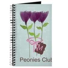 Watercolor Peony Gardener Journal