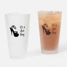 Shoe Thing Drinking Glass