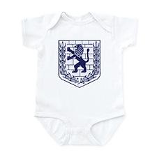 Lion of Judah White Infant Bodysuit