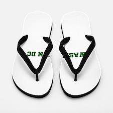 WASHINGTON DC-Fre d green 600 Flip Flops