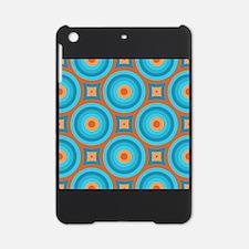 Orange and Blue Mid Century Modern iPad Mini Case
