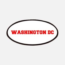 WASHINGTON DC-Fre red 600 Patch