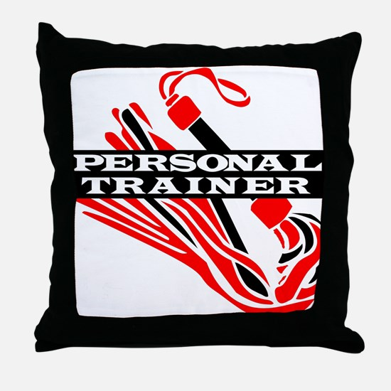 Personal Trainer Throw Pillow