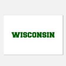 WISCONSIN-Fre d green 600 Postcards (Package of 8)