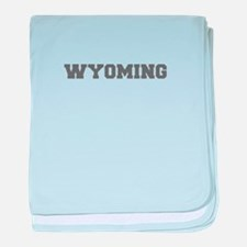 WYOMING-Fre gray 600 baby blanket