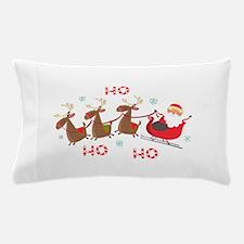 HO HO HO santa Pillow Case