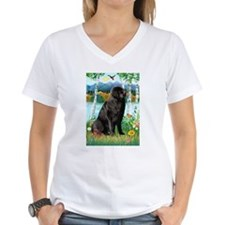 Newfie in the Birches Shirt
