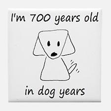 100 dog years 6 - 2 Tile Coaster