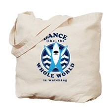 Left Shark MVP Dancing Tote Bag