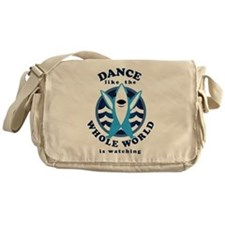 Left Shark MVP Dancing Messenger Bag