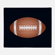 Football ball Throw Blanket