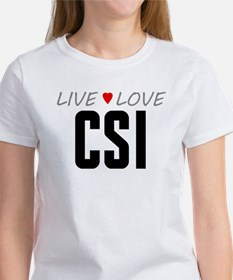 Live Love CSI Women's T-Shirt