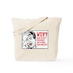 WTF? Anti Bush Tote Bag